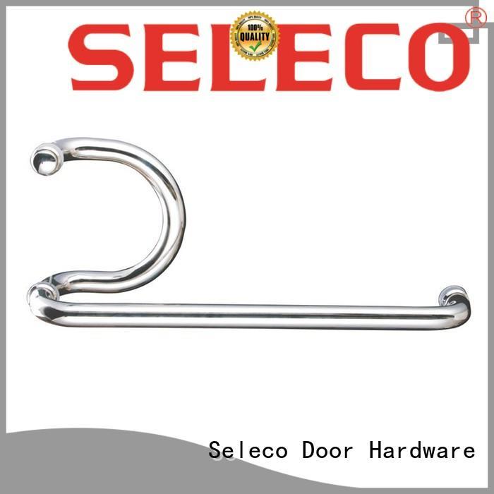 SELECO dual direction stainless steel shower door handle at discount door parts