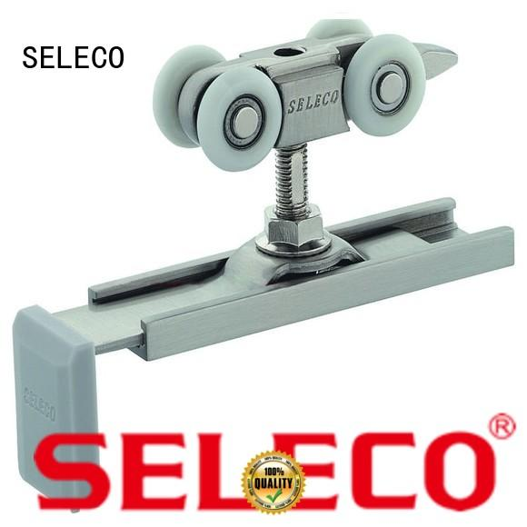 SELECO high-quality hanging sliding door hardware chic at discount