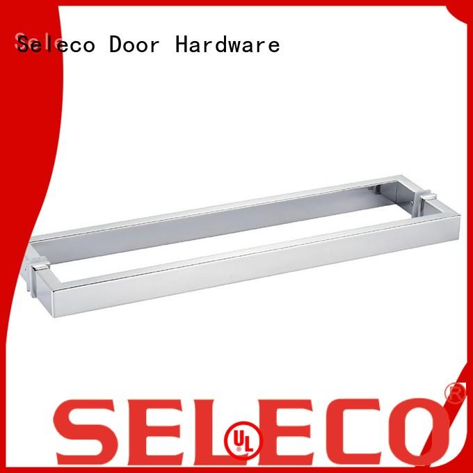 SELECO excellent hardness shower glass handle custom for door factory