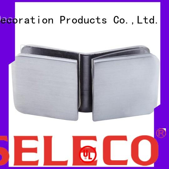 stainless clamp steel glass shower glass clamps SELECO