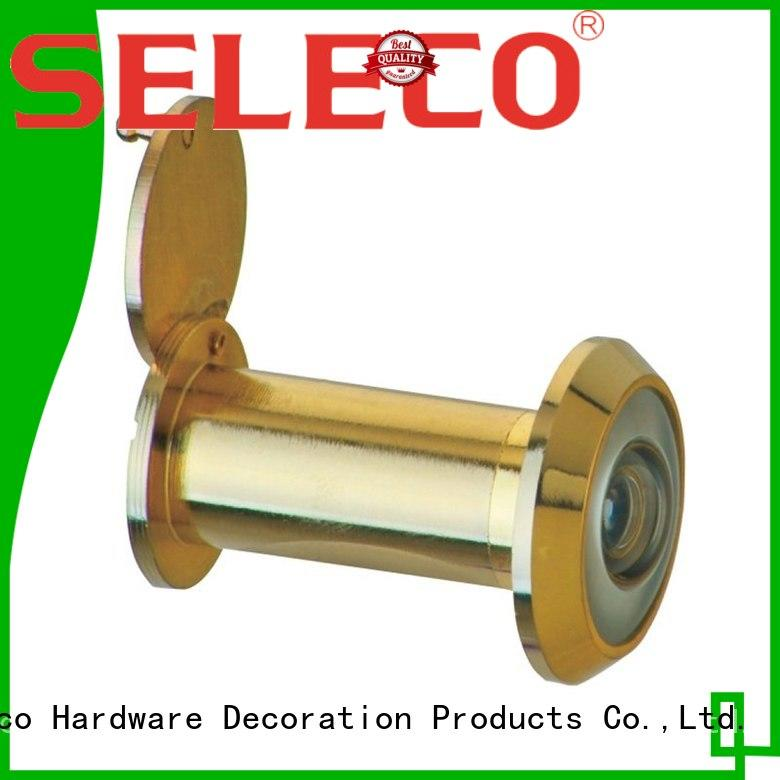 SELECO copper cover wide angle door viewer custom at discount
