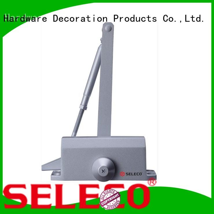 SELECO cheap heavy duty commercial door closer surface-mounted fast-installation