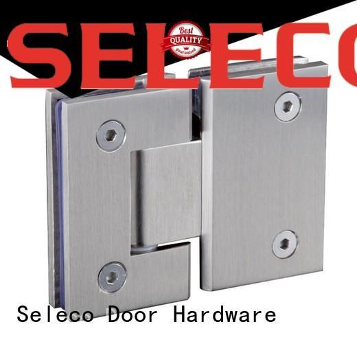 SELECO professional glass to glass shower door hinges chic design door accessory