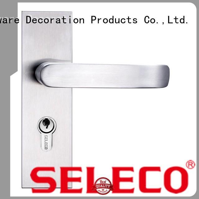 wholesale stainless steel sliding door lock at discount SELECO
