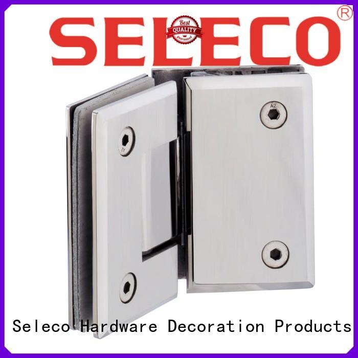 SELECO custom shower hinges glass hardware bathroom door