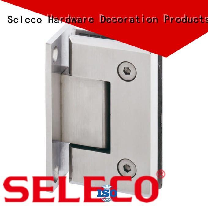 SELECO professional glass shower door hinges chic design door parts