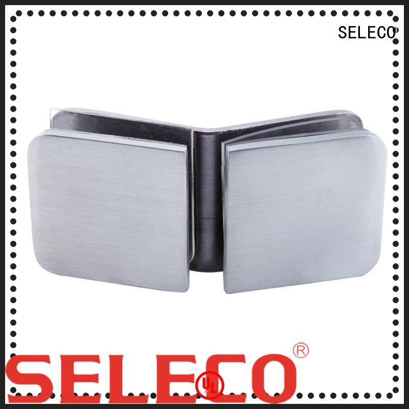 custom glass door clamp easy-installation for wholesale SELECO