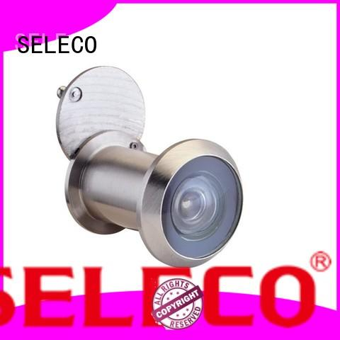 SELECO copper cover wide angle door viewer durable at discount