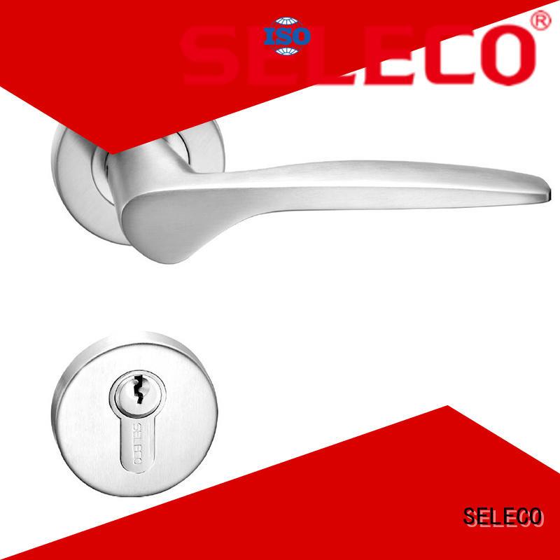 SELECO hollow split steel door lock for door factory