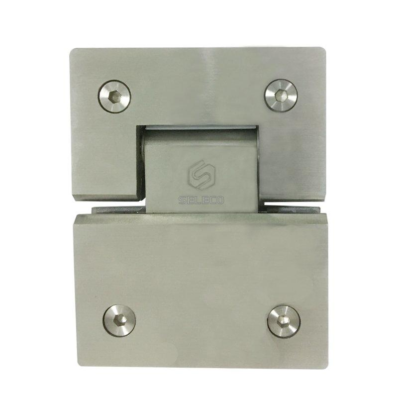 SELECO 135 degree shower hinges glass hardware chic design at discount-3