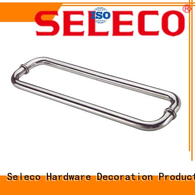 SELECO poplar shower glass handle easy-installation