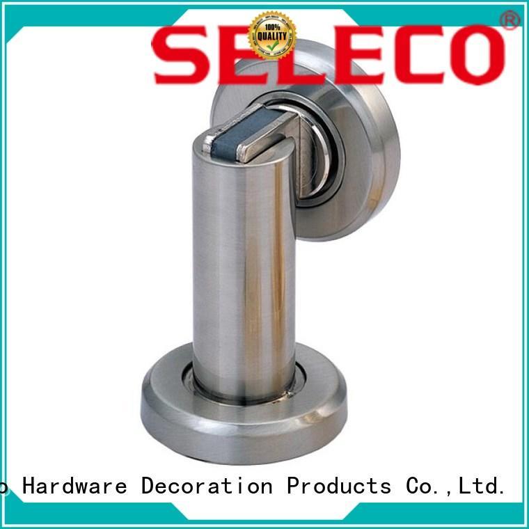 SELECO zinc alloy half moon door stop popular for door factory