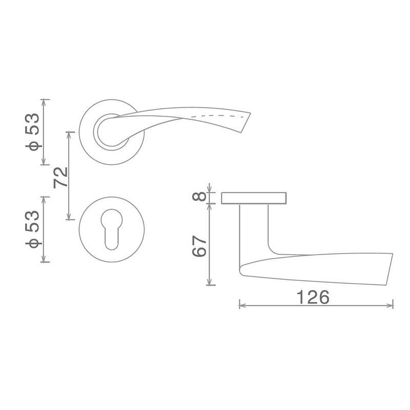 SELECO wholesale steel door lock for door factory-2