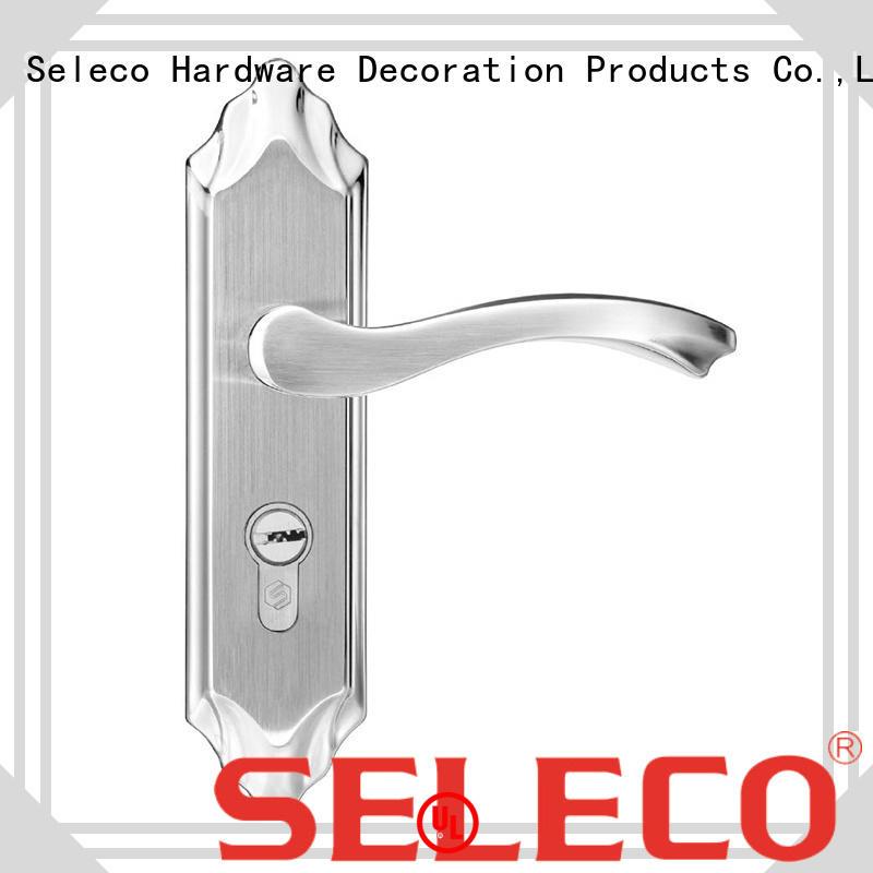 SELECO professional metal door lock fire-proof for door factory