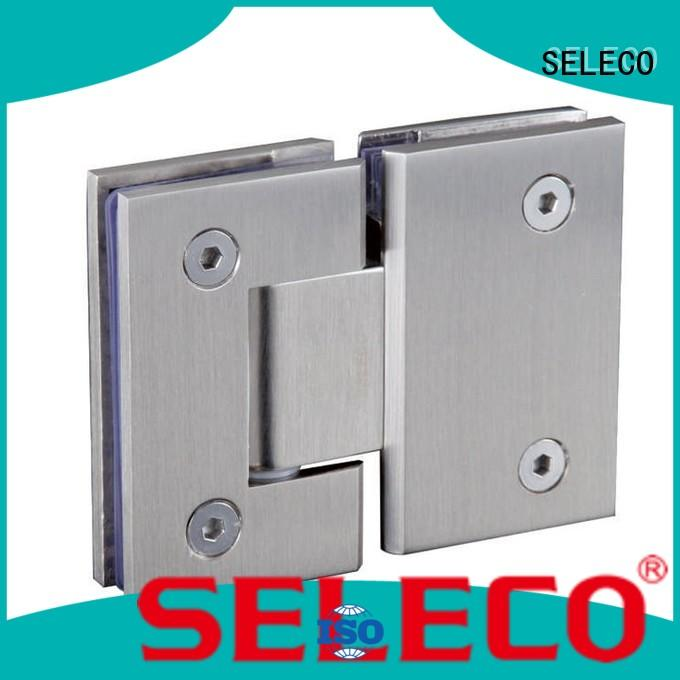 SELECO professional shower hinges glass hardware chic design
