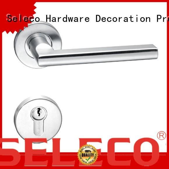 SELECO high-quality stainless steel door locks light-weight for door factory