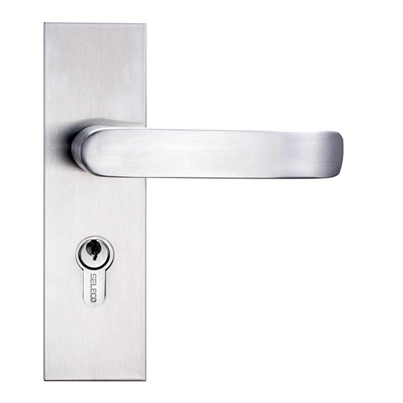 SELECO fireproof steel door lock light-weight at discount-1