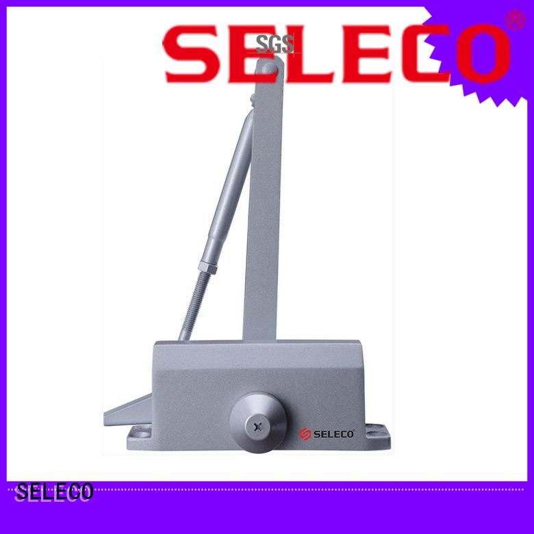 SELECO automatic concealed aluminium door closer bulk order fast-installation