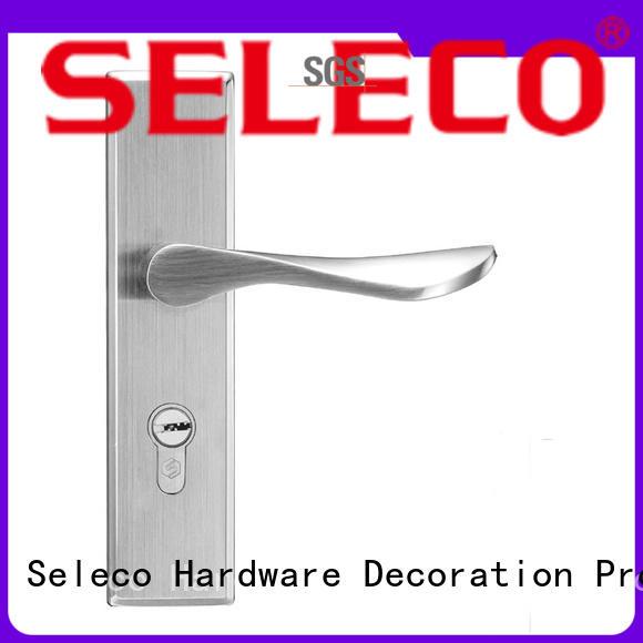 SELECO wholesale metal door lock light-weight door fabrication