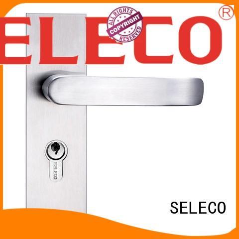 SELECO professional steel door lock fire-proof door fabrication