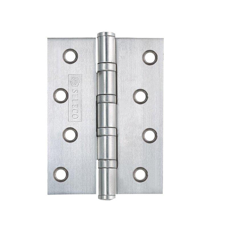 SELECO round angle stainless steel door hinges hot-sale from brass-3