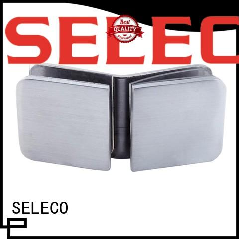 SELECO shower glass clamps quick- installation free sample