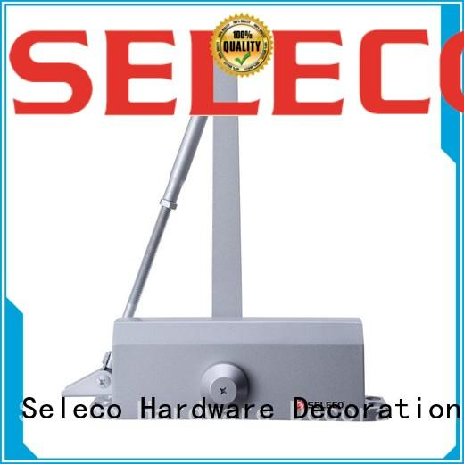 SELECO wholesale aluminium door closer surface-mounted free delivery