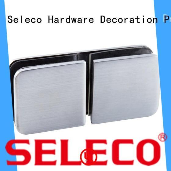 SELECO custom shower glass clamps 180 degree free sample