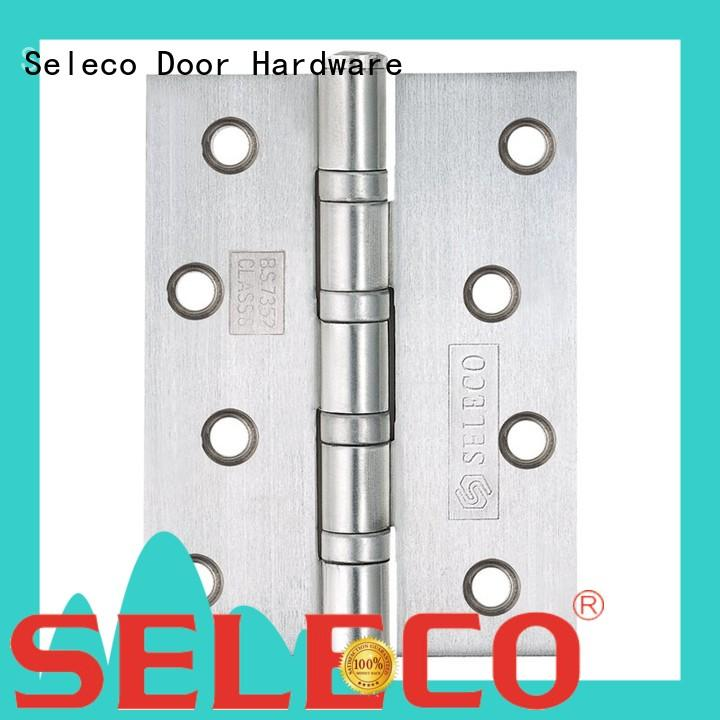 SELECO non-mortise stainless steel door hinges hot-sale from brass