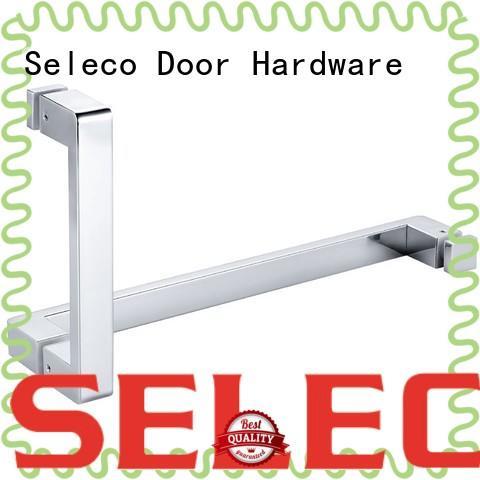 SELECO dual direction glass shower door handles easy-installation