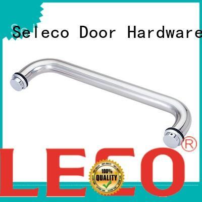 SELECO wholesale glass shower door handles with PVC gasket for door factory