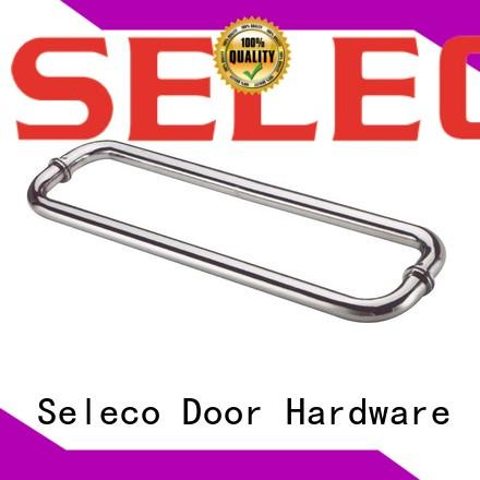 stainless handle steel glass shower door handles SELECO
