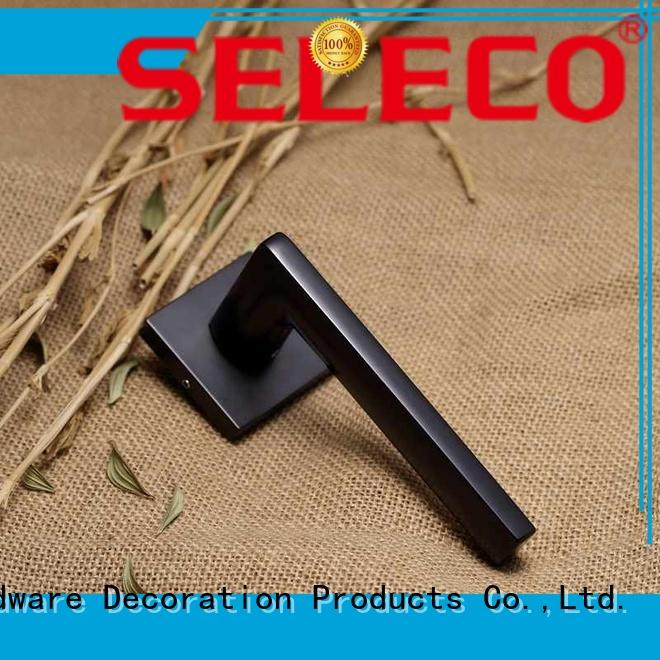 SELECO simple design door lock hardware bathroom door