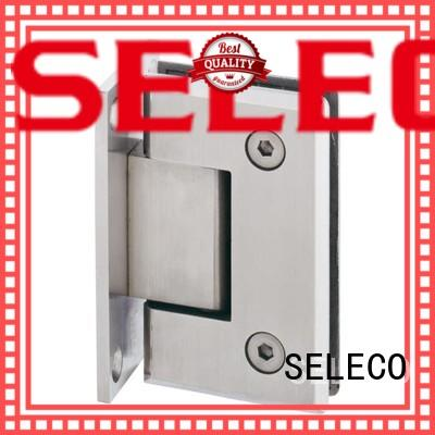 SELECO professional glass to glass shower door hinges chic design