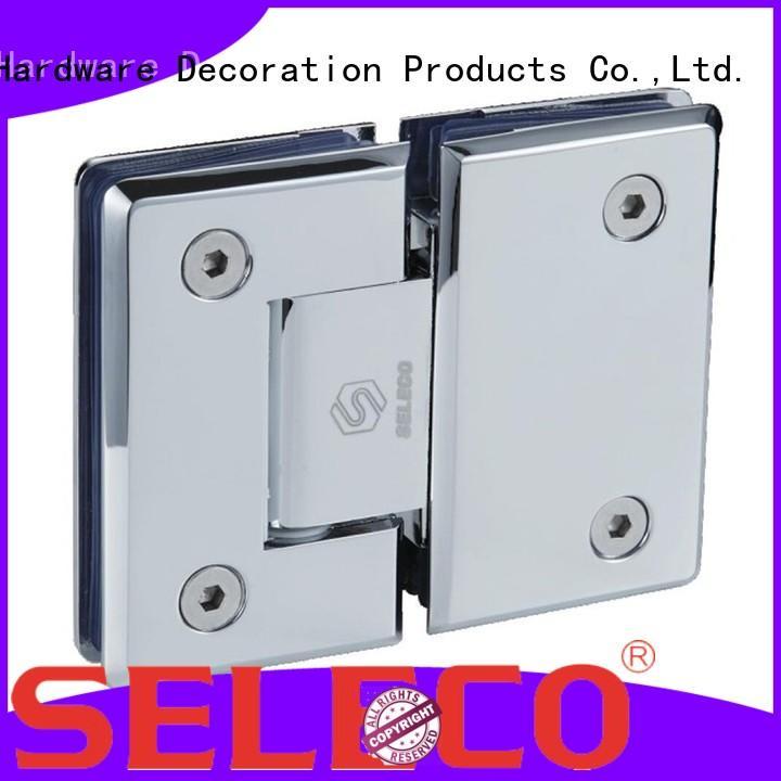easy-installation glass to glass shower door hinges wholesale bathroom door
