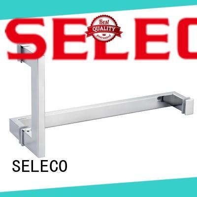 SELECO wholesale glass shower door handles easy-installation door parts