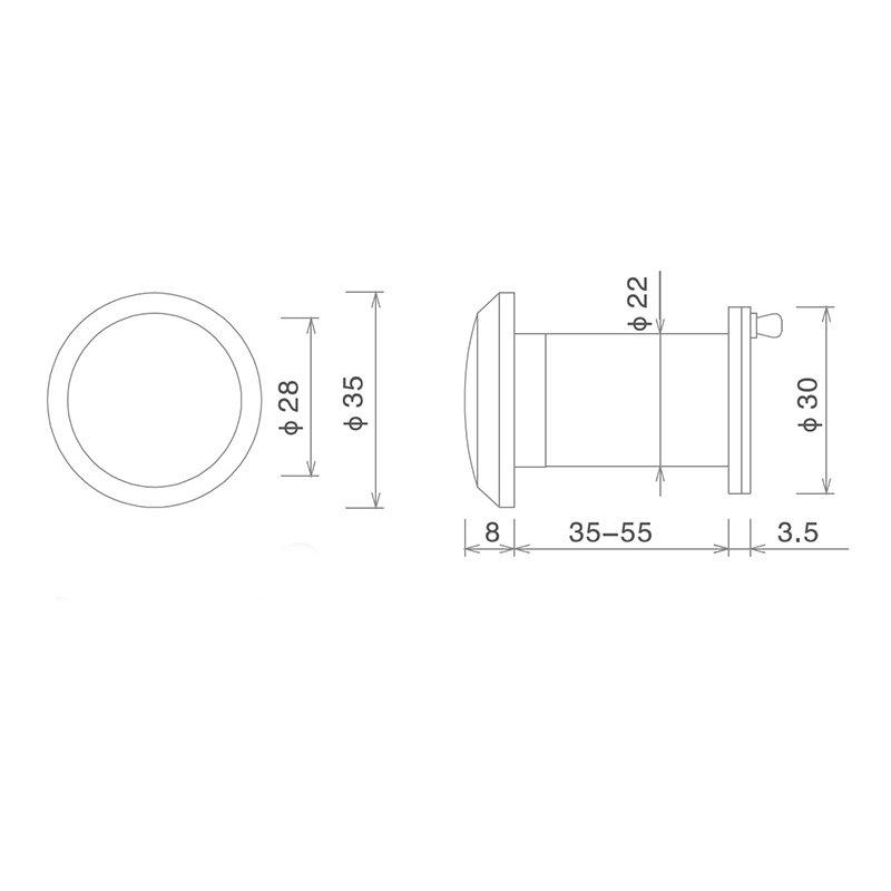 220 degree wide angle door viewer wide angle custom at discount-2
